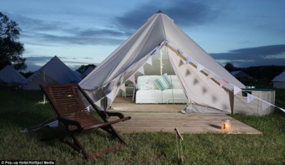 Luxury Tent on Safari