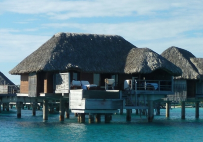 Over the water bungalow at Four Seasons