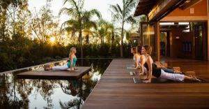 Yoga classes at Wellness resort in Mexico