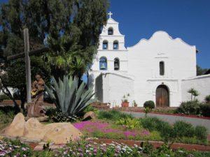 Mission church in San Diego