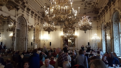 lunch in private castle in Vienna