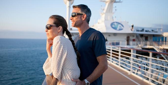 AZA Ship Deck couple