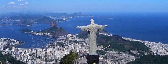Christ overlooking Rio De Janerio