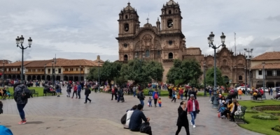 City Square in Cusco