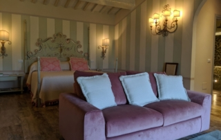 Jr. Suite at Il Falconiere
